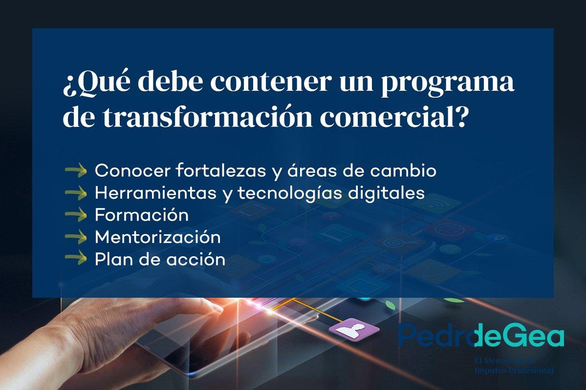 programa de transformación comercial